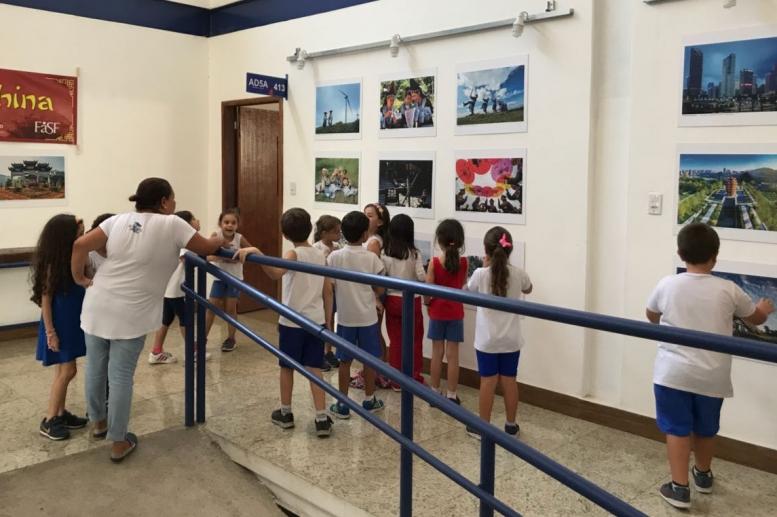 Visita do 1º ano na exposição Retratos da China