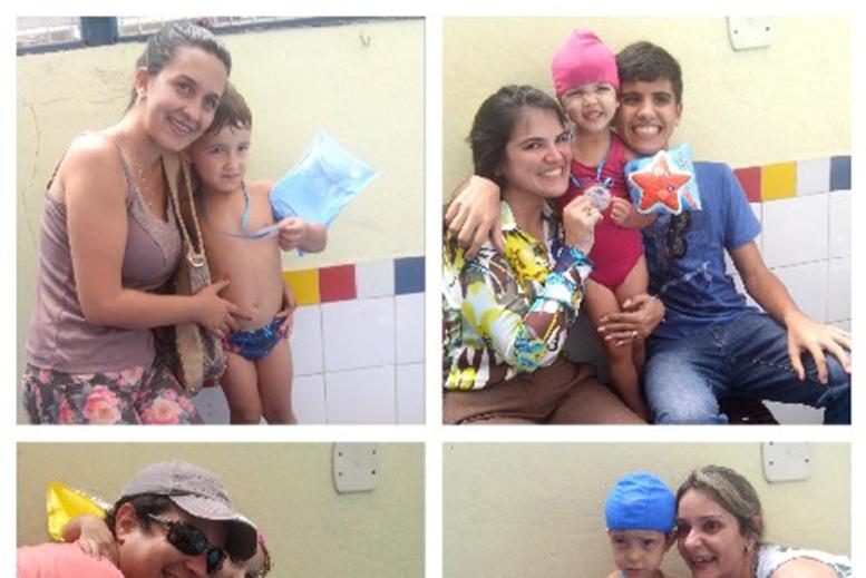 FESTIVAL DE NATAÇÃO INFANTIL II E V