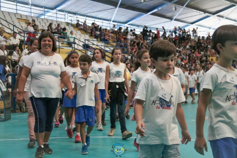 Abertura do Jogos Estudantis de Volta Redonda (JEVRE), o maior evento esportivo estudantil da cidade.