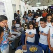 Visita dos nossos pequenos na Expo ICT!