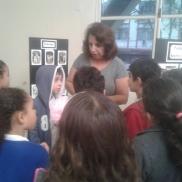 Visita do 2º ano na Biblioteca Municipal